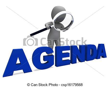 Clipart For Agenda.