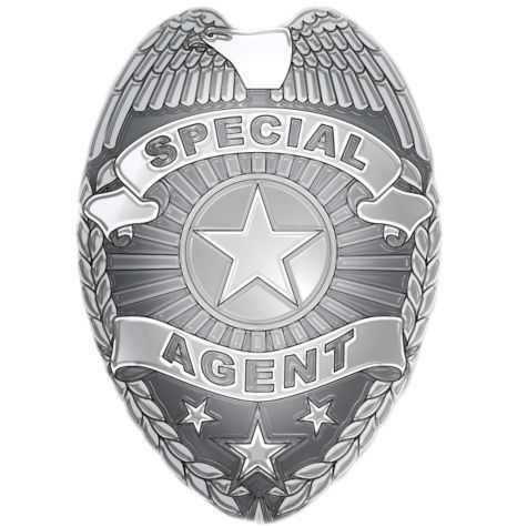 Special Agent Badge.