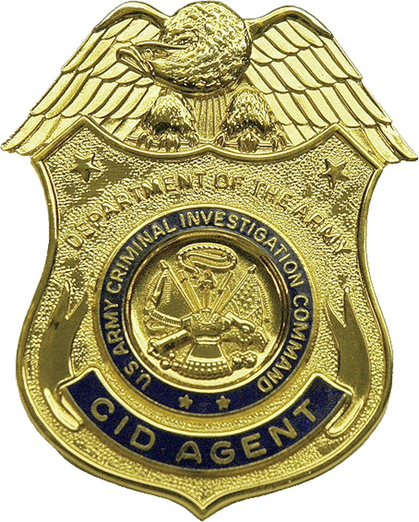 Special Agent Badge Clipart.