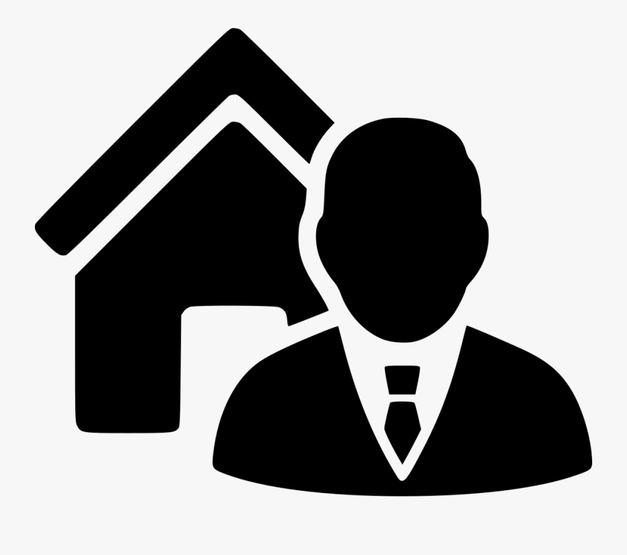 Real Estate Agent Icon , Free Transparent Clipart.