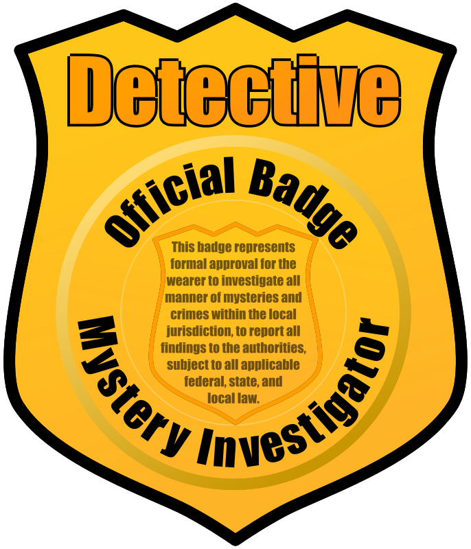 Detective Badge by eady.