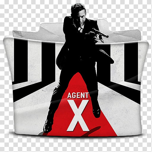 Agent X Folder Icon, Agent X transparent background PNG.