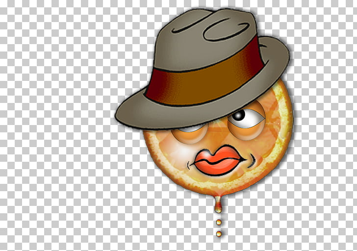 Hat Smiley Animated cartoon, Agent Orange PNG clipart.