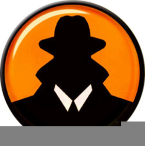 Secret clipart agent orange, Secret agent orange Transparent.