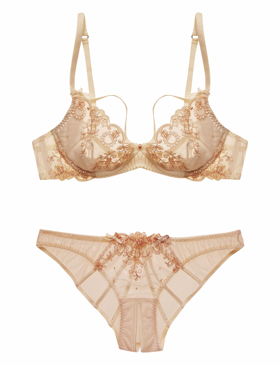 """l'agent By Agent Provocateur """"lusina"""" Bra And Panties."""