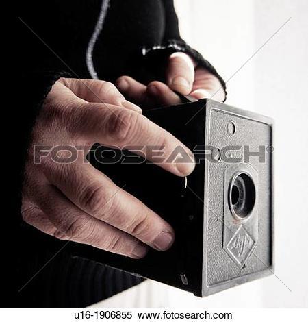 Stock Image of Old Photo Camera Agfa Isochom B2.