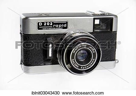 """Stock Photography of """"Dacora D 202 Rapid, Agfa Rapid film system."""