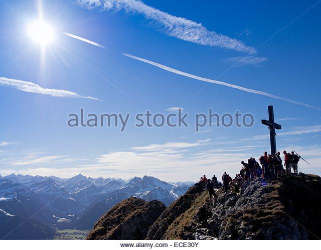 Flag Mountain Peak Climber Stock Photos & Flag Mountain Peak.