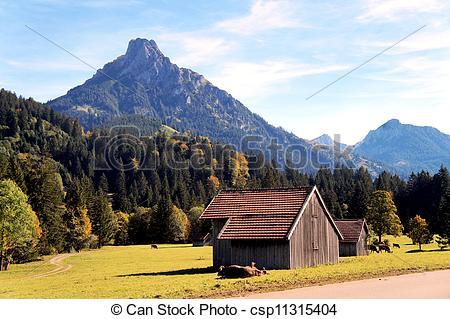 Stock Fotografie von Herbst, allgäu.