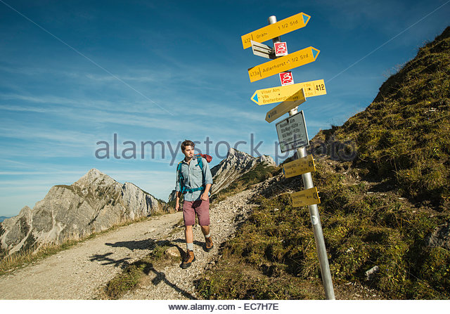 Hiker Trail Sign Stock Photos & Hiker Trail Sign Stock Images.