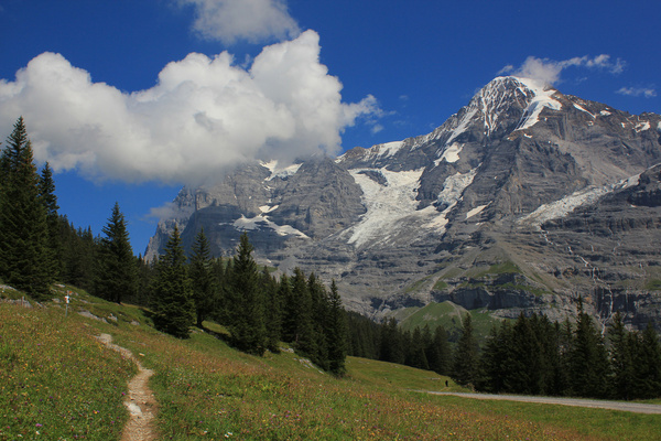 Swiss mountains the eiger north face and mnch Free stock photos in.