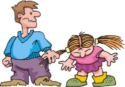 Clip Art Aggressive Behavior Clipart.