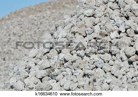 Stock Photography of Blast Furnace Slag, Aggregates k16634610.