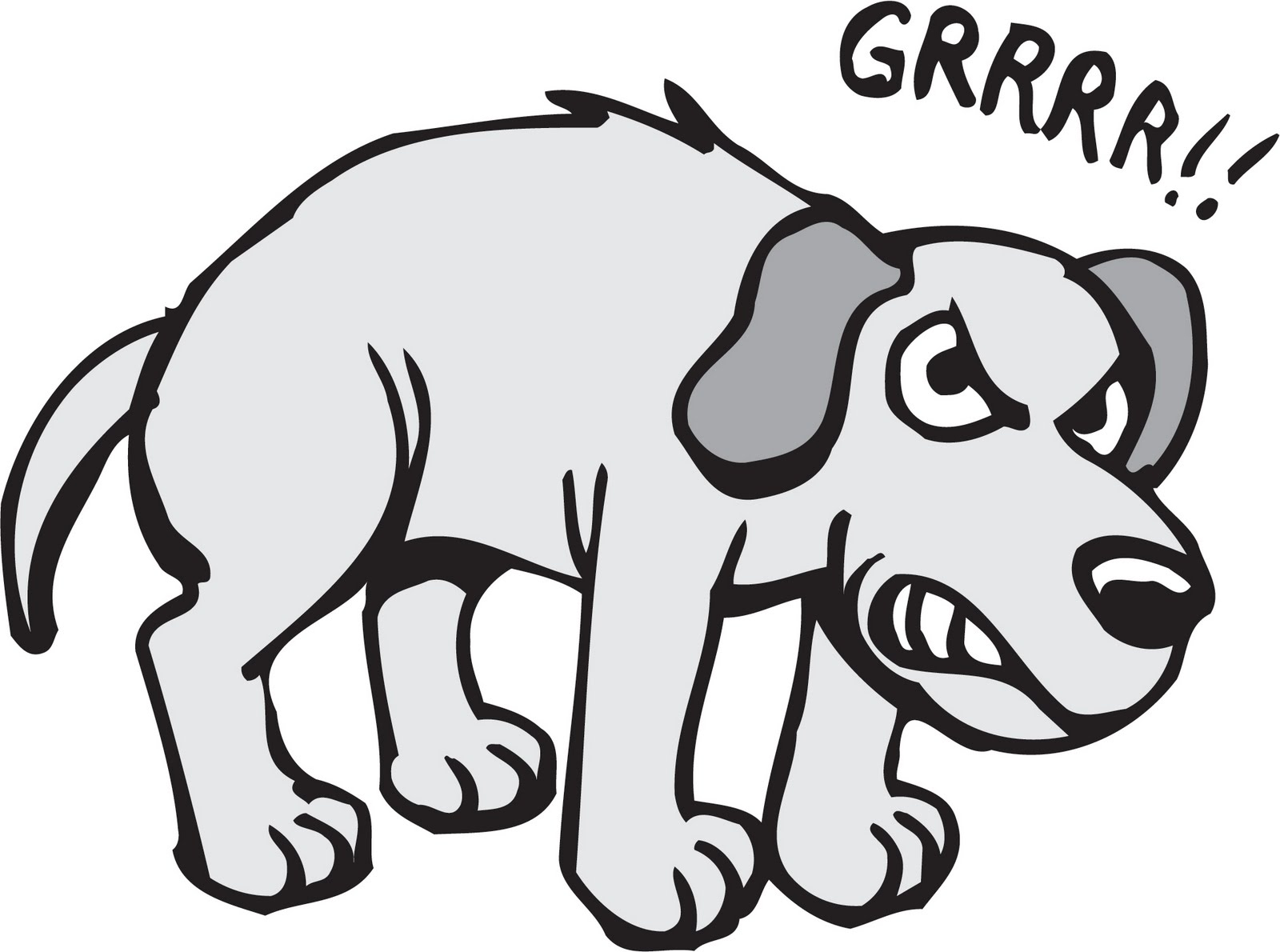 45017 Dog free clipart.