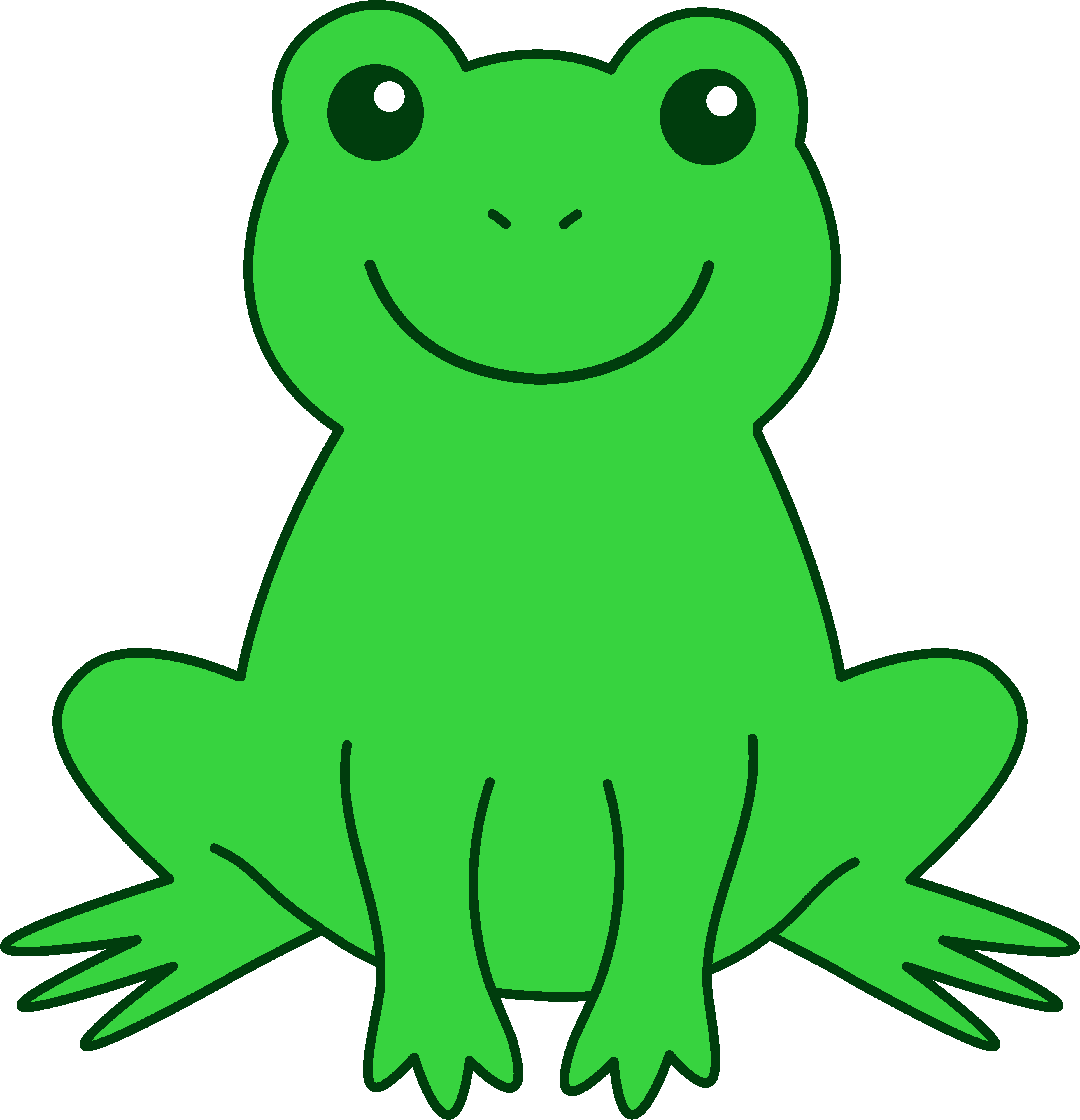 Download High Quality frog clipart cute Transparent PNG.