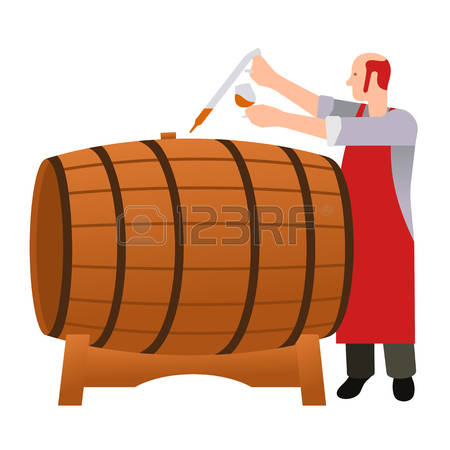 Oak Barrels Cliparts, Stock Vector And Royalty Free Oak Barrels.