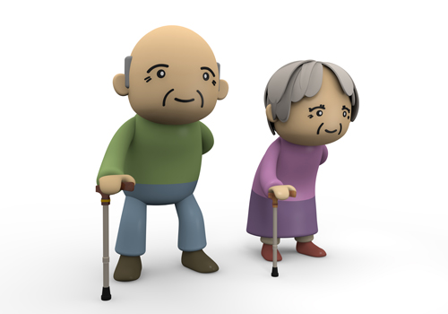 Free aging clipart.