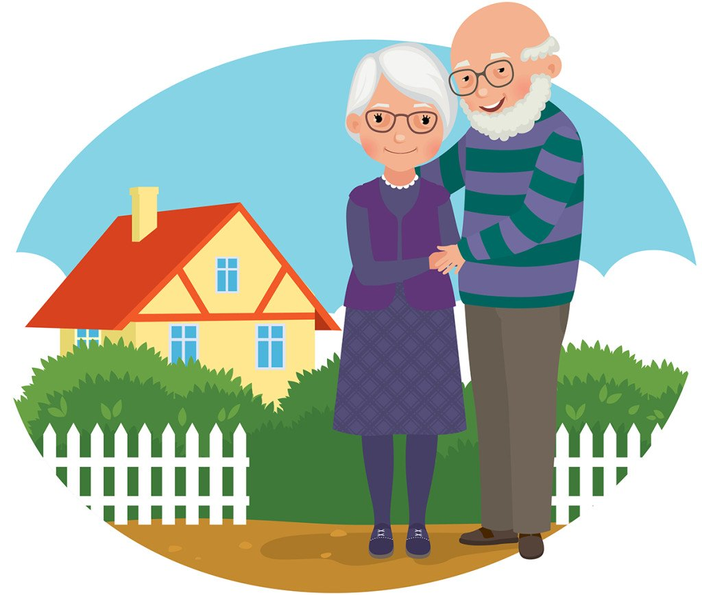Oh, Mom! Older parents\' desire to age in place tests family.