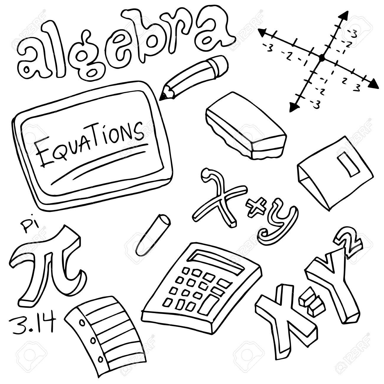 298 Algebra free clipart.