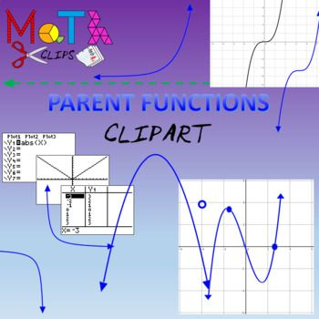 Parent Functions Clipart.