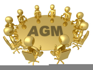 Annual General Meeting Clipart.