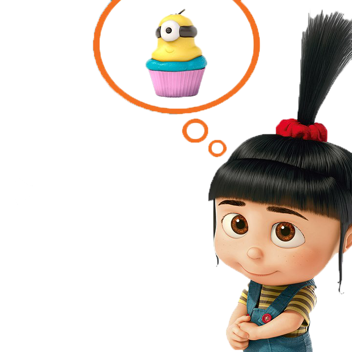 Clipart agnes from despicable me.