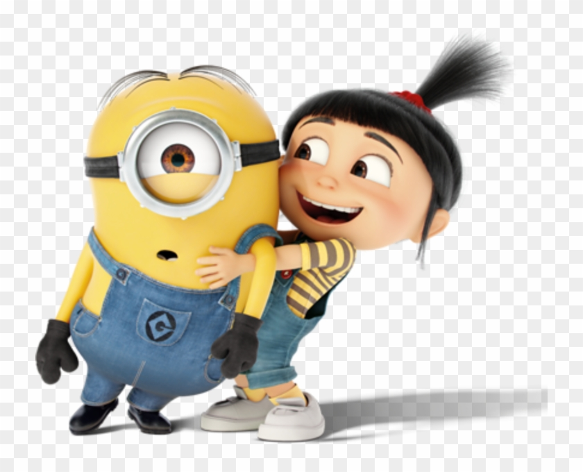 Girl And Minion.