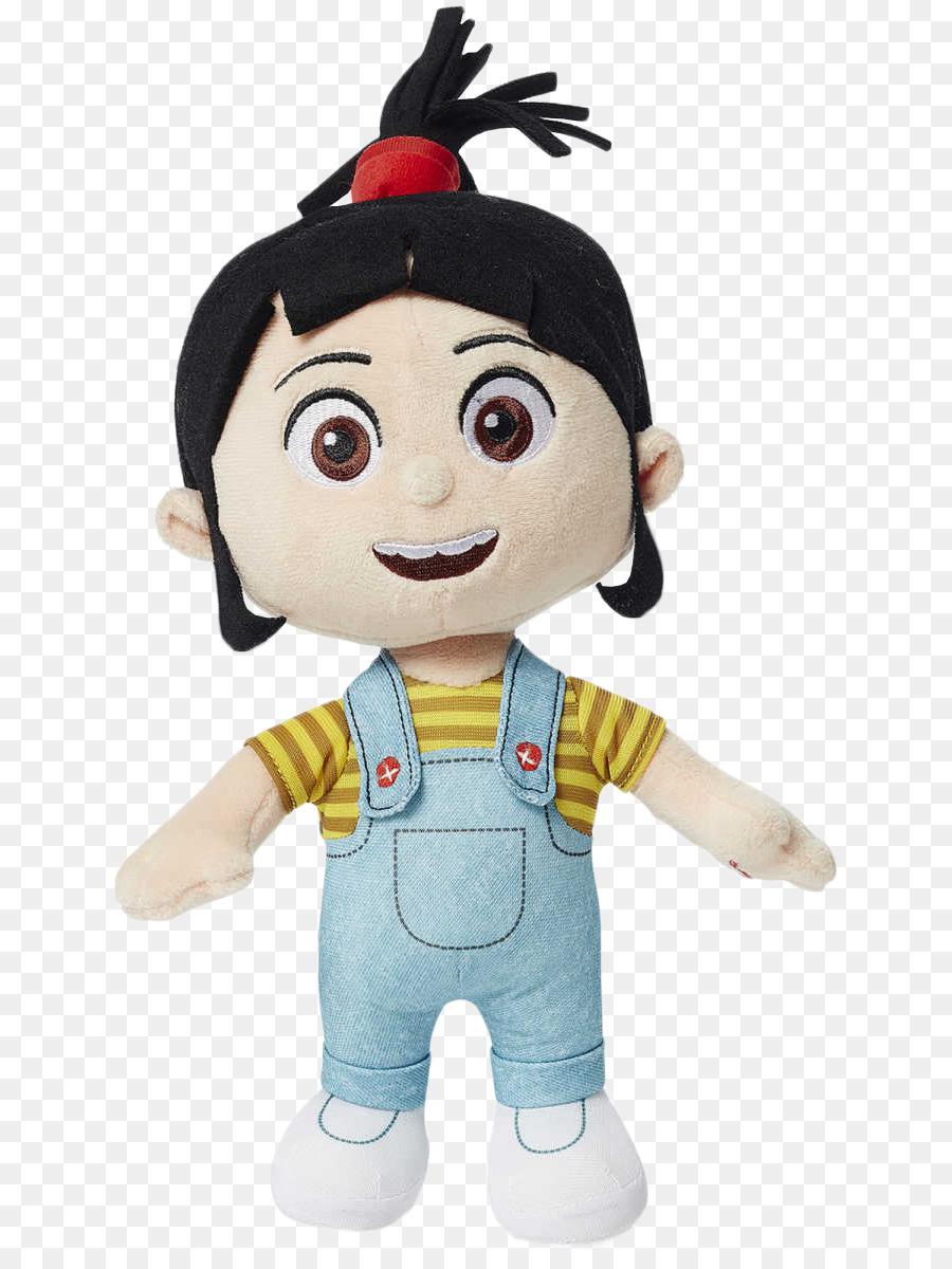 Agnes Stuffed Toy png download.