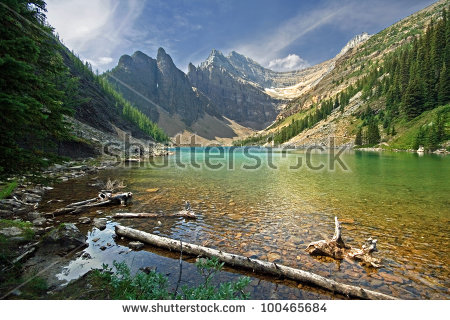 Agnes Lake Stock Photos, Royalty.