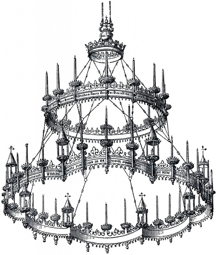 1000+ ideas about Gothic Chandelier on Pinterest.