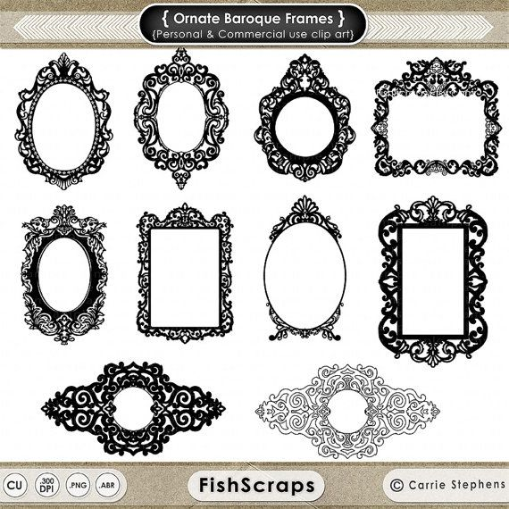 Gothic Frame Clipart.