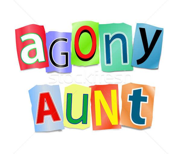 Agony aunt concept. stock photo © Samantha Craddock (72soul.