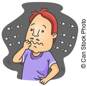 Agoraphobia Stock Illustrations. 179 Agoraphobia clip art.