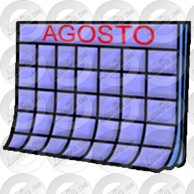 Agosto Picture for Classroom / Therapy Use.