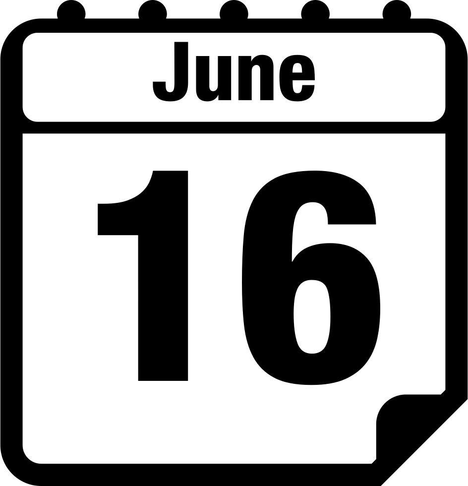 Download June Clipart June Calender.