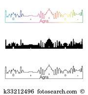 Agra skyline Clipart EPS Images. 15 agra skyline clip art vector.