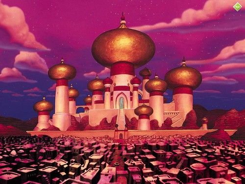A picture of were the story takes place. Agrabah. in 2019.