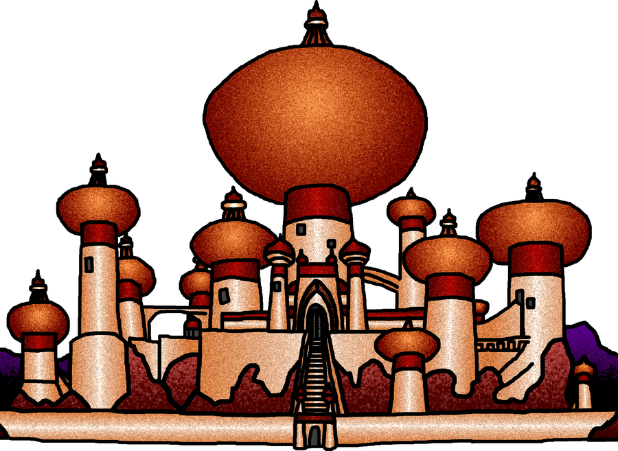 Agrabah Palace Colored by RyanH1984 in 2019.