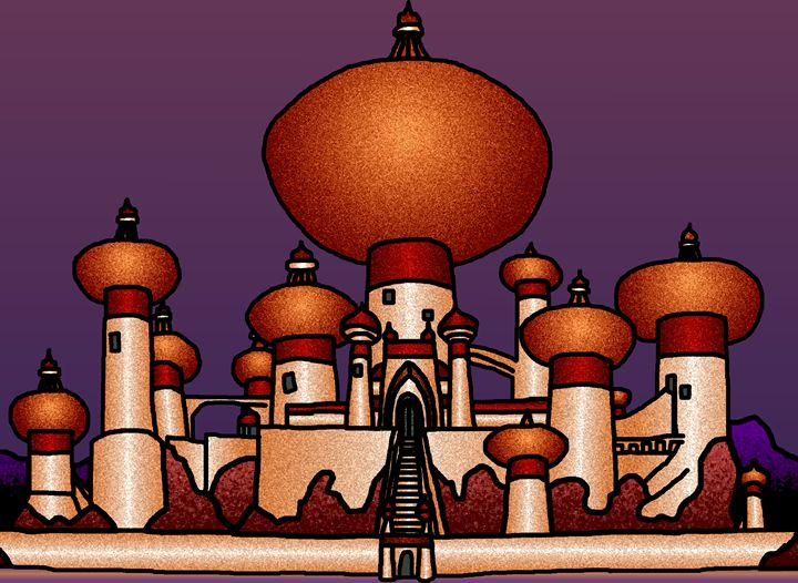Agrabah Palace.