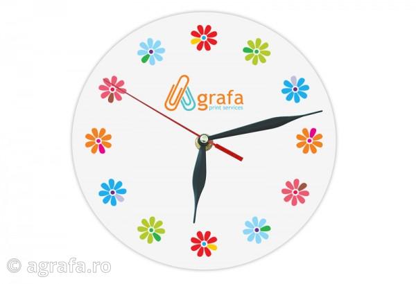 Ceasuri de perete personalizate.