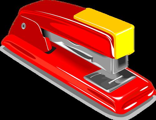 Stapler vector image.