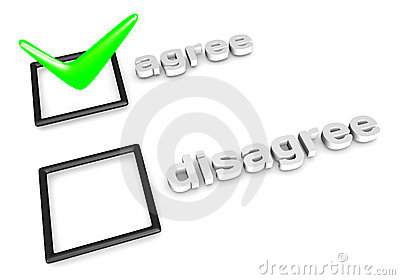 Agree clipart #2