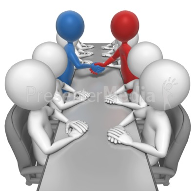 Business Agreement Clipart.