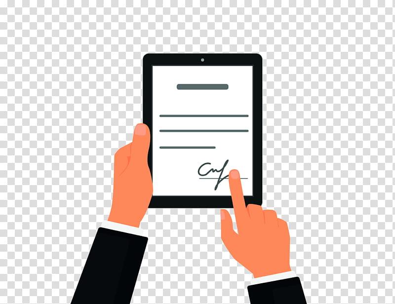Paper, Contract, Electronic Signature, Digital Signature.