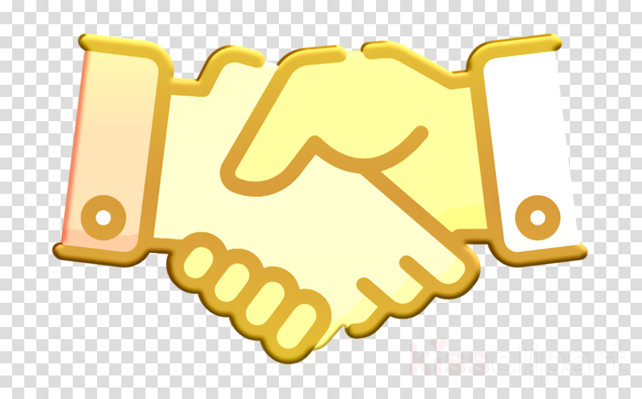 Agreement icon Handshake icon Teamwork icon clipart.