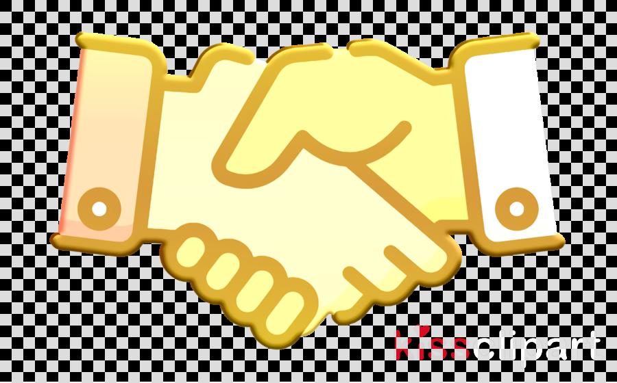 Agreement icon Handshake icon Teamwork icon clipart.