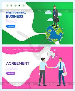 International Business Collaboration, Agreement.