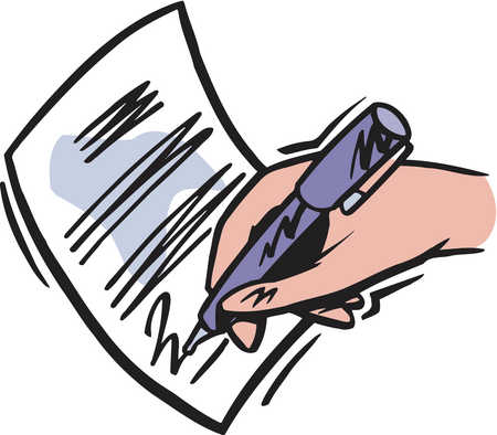 Agreement writing clipart clipart images gallery for free.