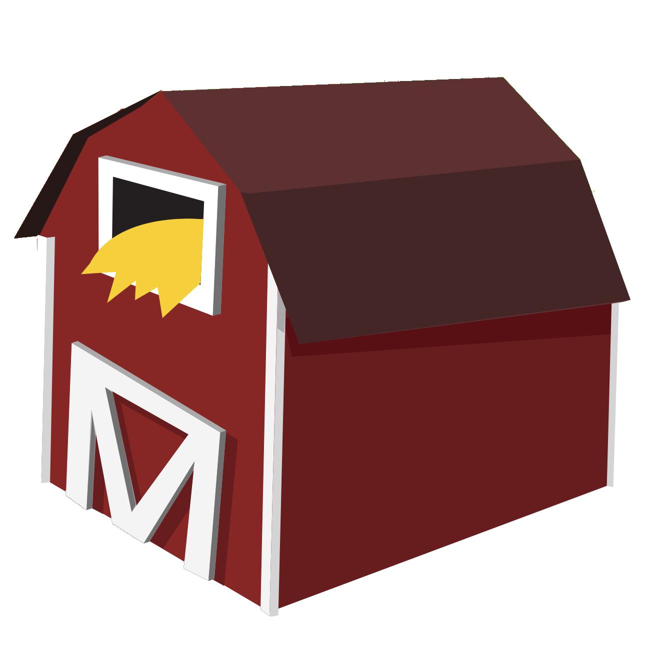 Farm Barn Clip art.