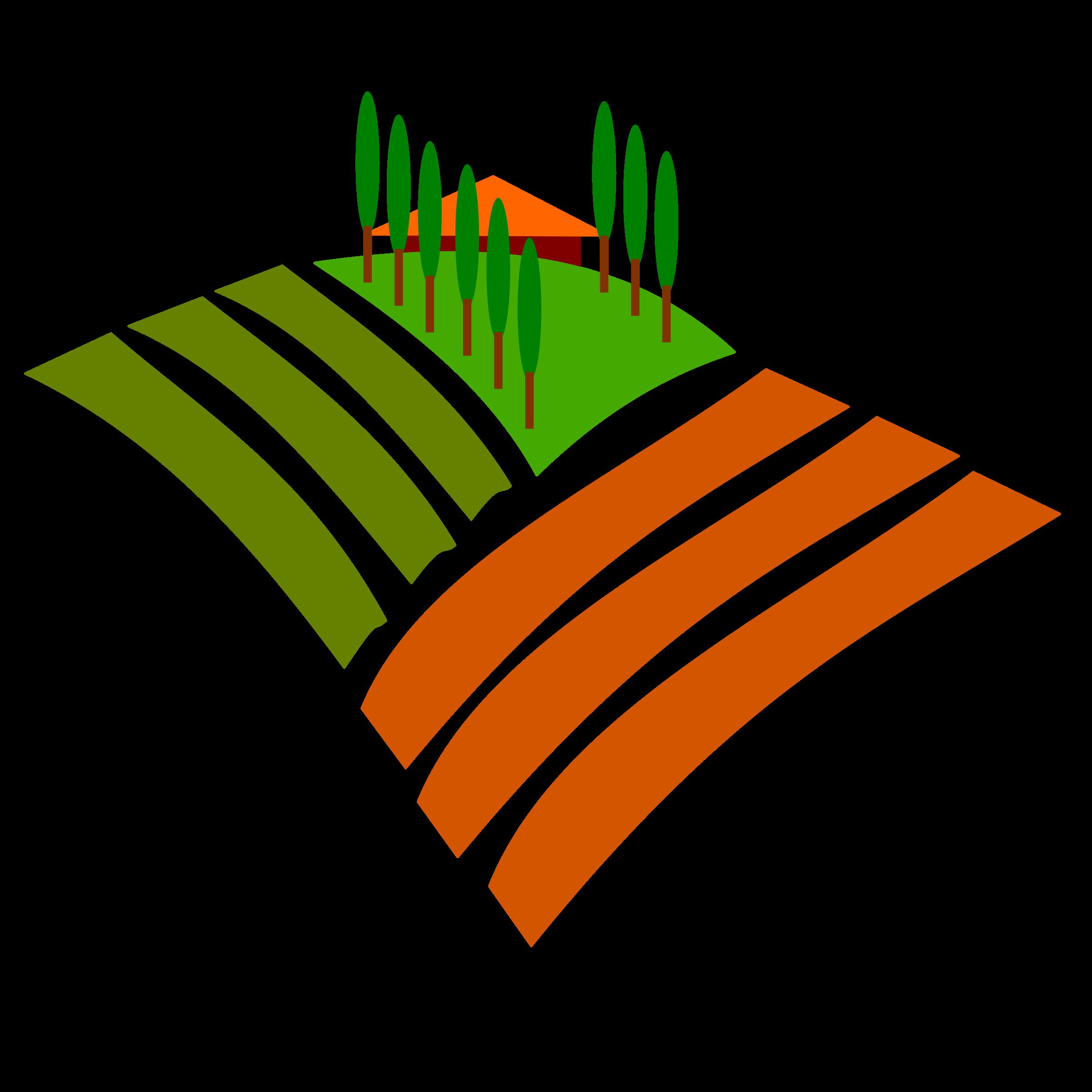 Agricultural land Clip art.